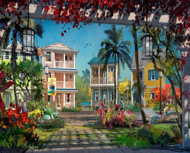 New Margaritaville Resort Cottages Near Disney!
