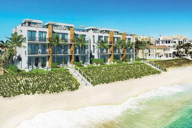 Oceanfront Town Homes Near Palm Beach!