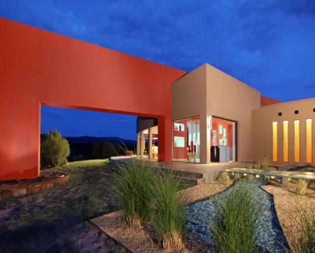 Santa Fe's Colorful Homes!