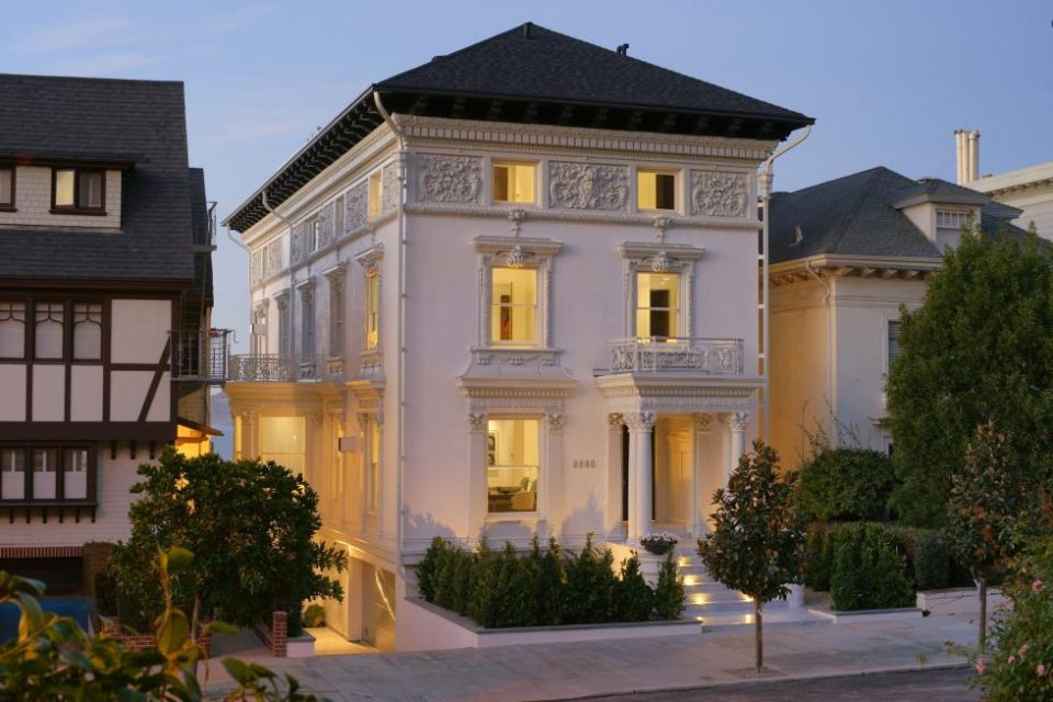 Pacific Heights White Mansion!