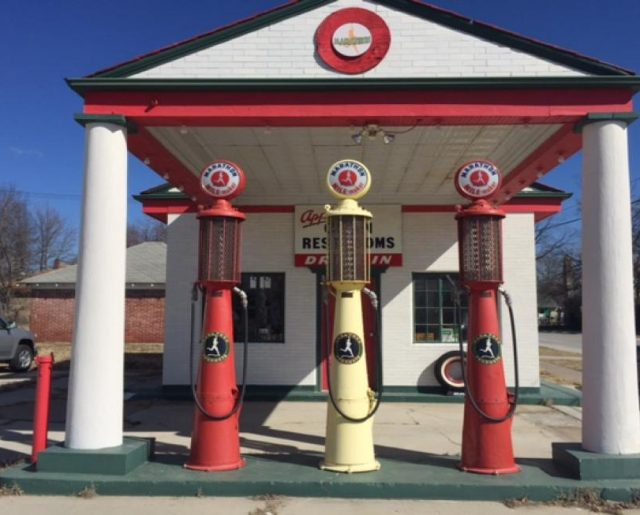 Historic Route 66 Gas Station Auction!