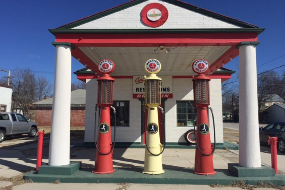 Image result for route 66 gas station