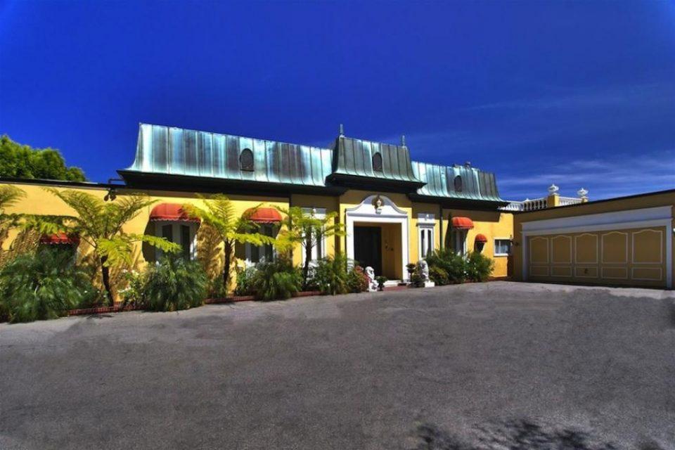 Zsa Zsa Gabor's Bel Air Mansion!