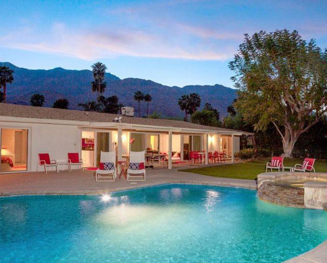Walt Disney's Palm Springs Vacation Home!