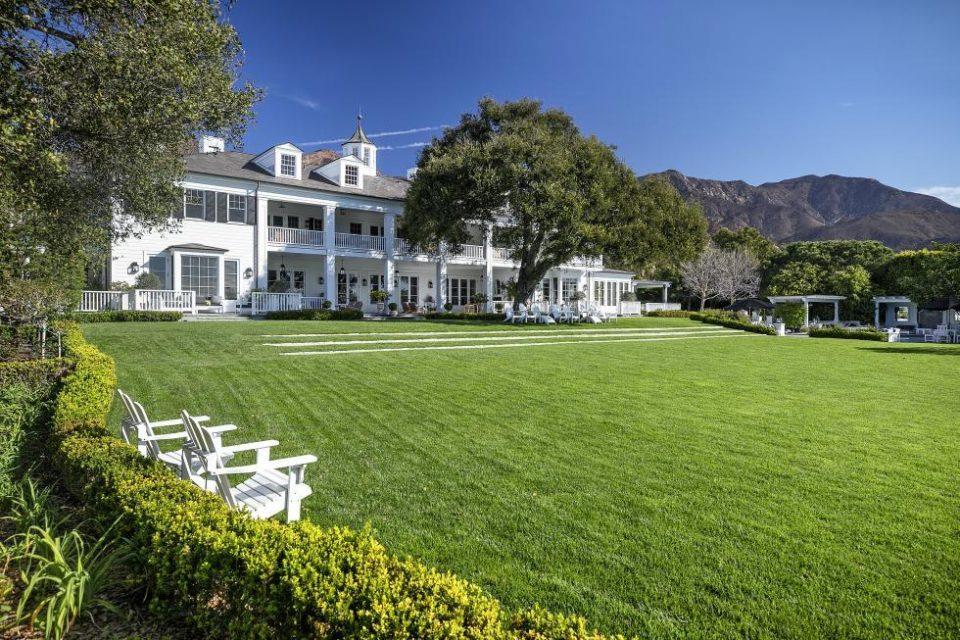 Rob Lowe's Classic California Estate!