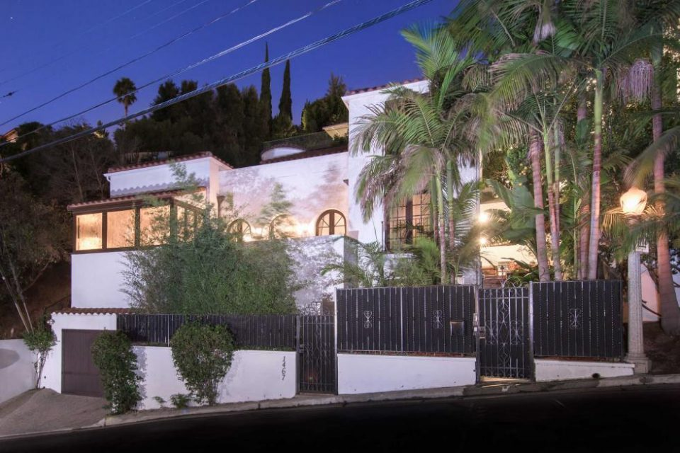 Paris Hilton's Sunset Strip-Hollywood Hills Home!