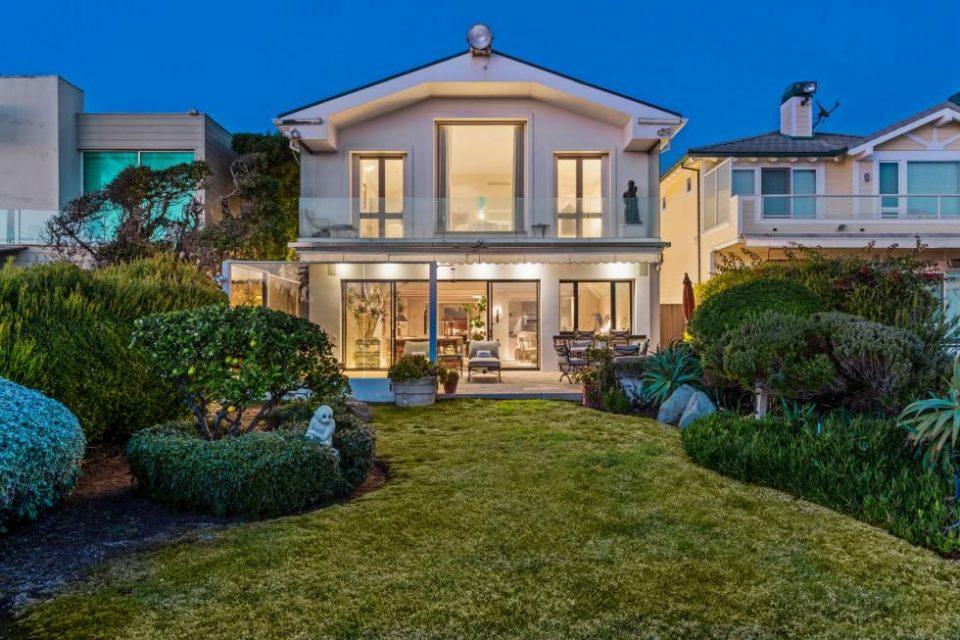Frank Sinatra's Malibu Beach House!