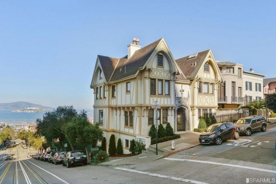 Nicolas Cage's San Francisco Home!