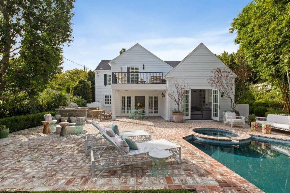 Bette Midler and George Lucas Hollywood Hills Home!