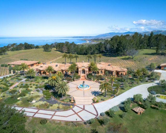 $60 Million California Mansion & Vineyard Auction!