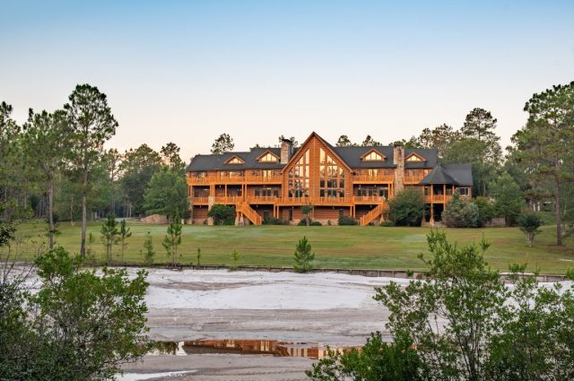Largest Log Home in the Southern U.S.!