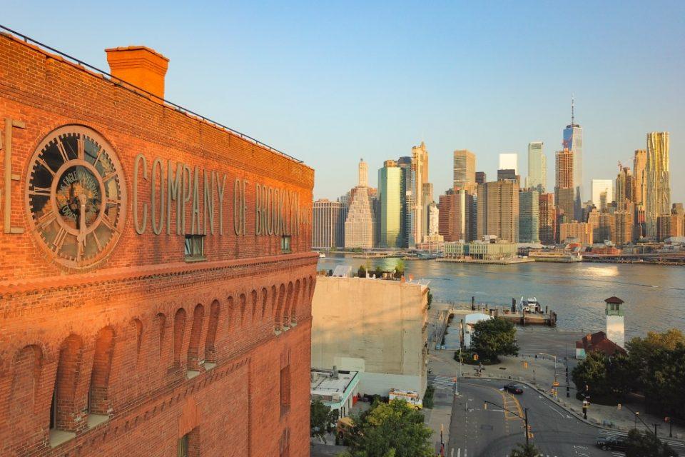 Brooklyn's Eagle Warehouse Clock Tower!