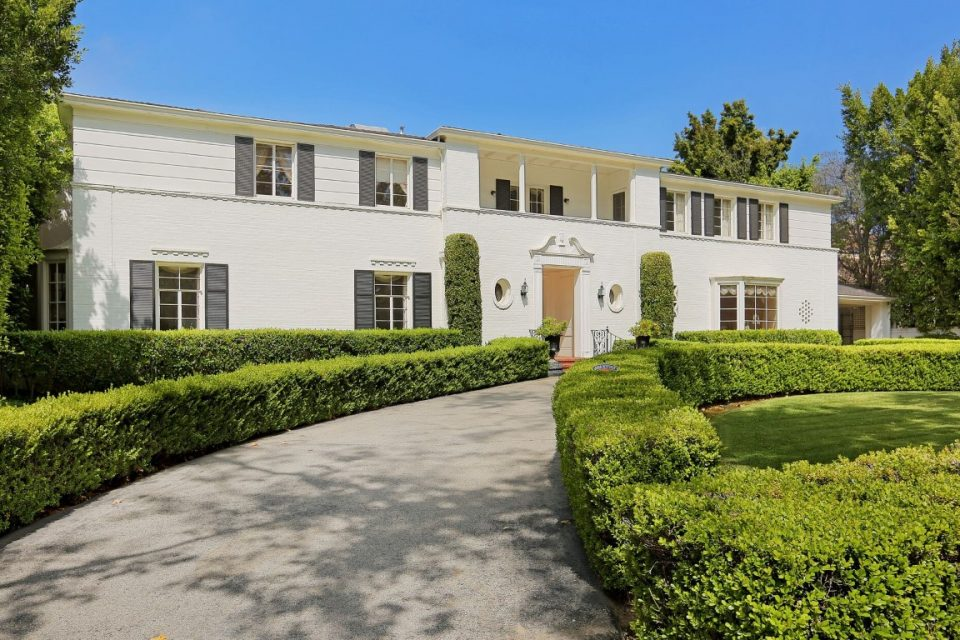 Ronald Reagan & Jane Wyman's L.A. Home!
