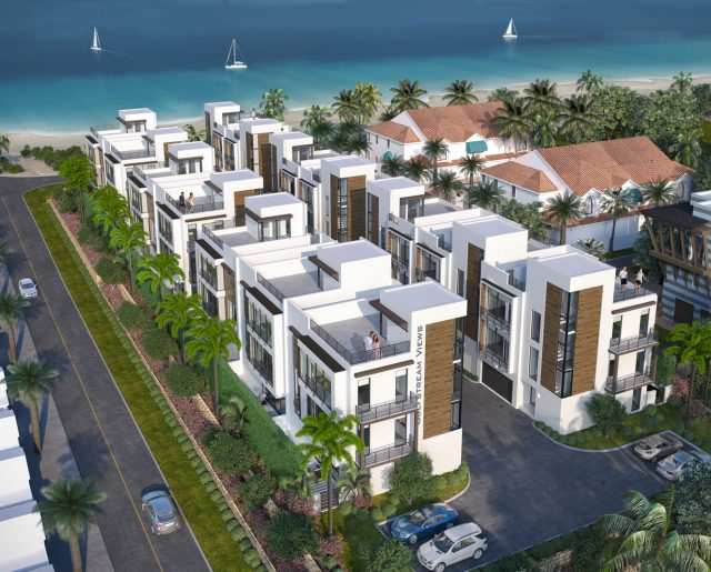 Palm Beaches Oceanfront Town Homes!