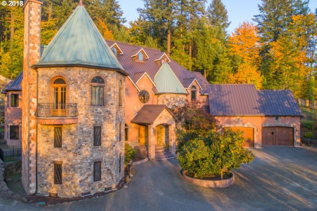 Oregon Castle Fit for Prince Harry and Meghan Markle!