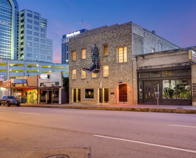 Austin's Historic Palazzo Lavaca – Was Once Capitol Saddlery!