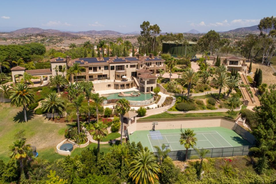 Beach Boy Mike Love's Mansion Has Everything Except a Beach!