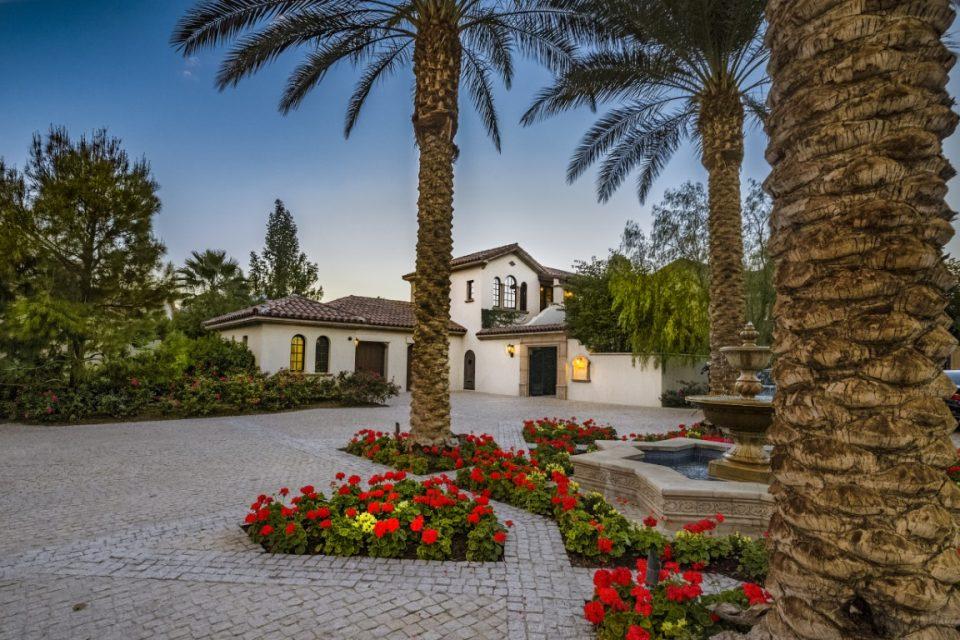 Sylvester Stallone's Stunning La Quinta Mansion!