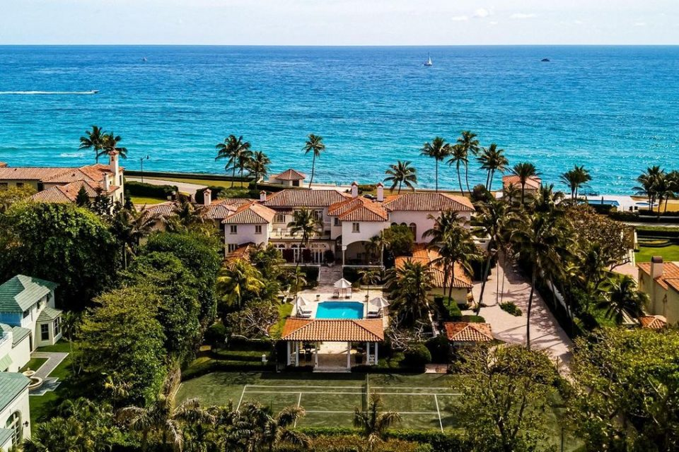 John & Yoko's Palm Beach Mansion!