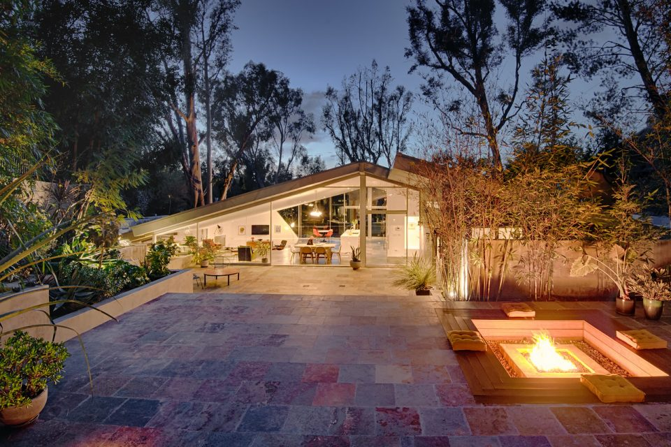 Harry Gesner's Triangle House!