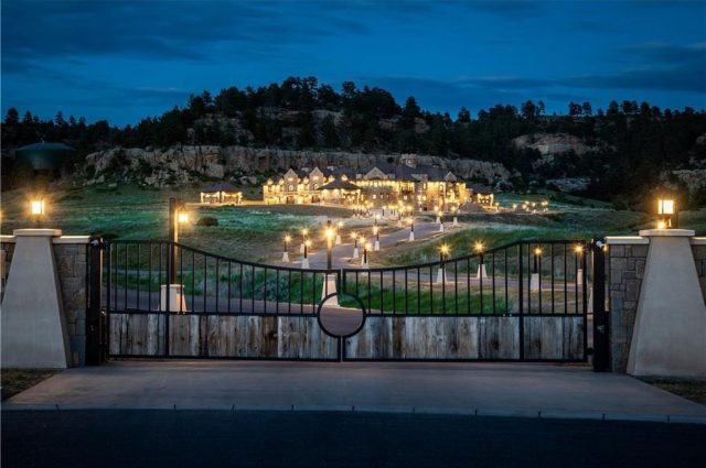 New Montana Castle Has Everything – Even a Bowling Alley!