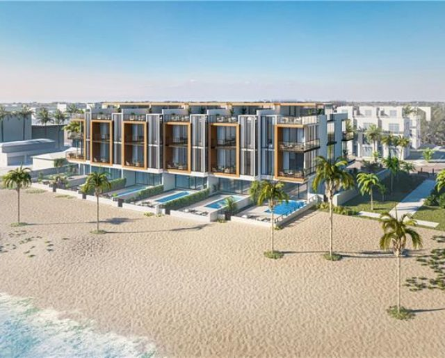 Sold Out: On-the-Beach Town Homes!