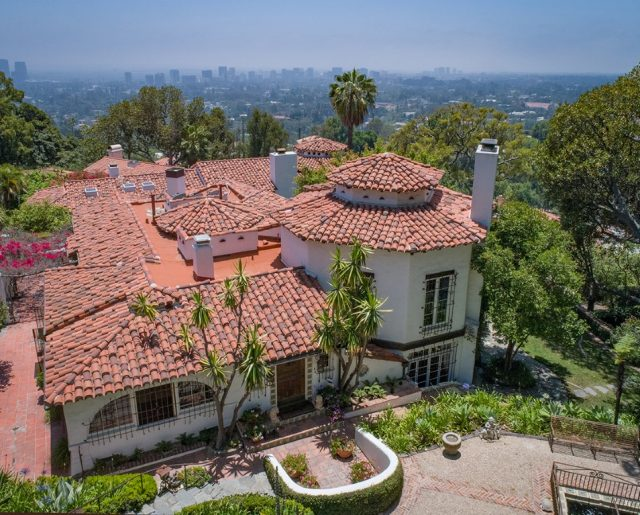 """Million Dollar Listing's"" John Barrymore Mansion!"