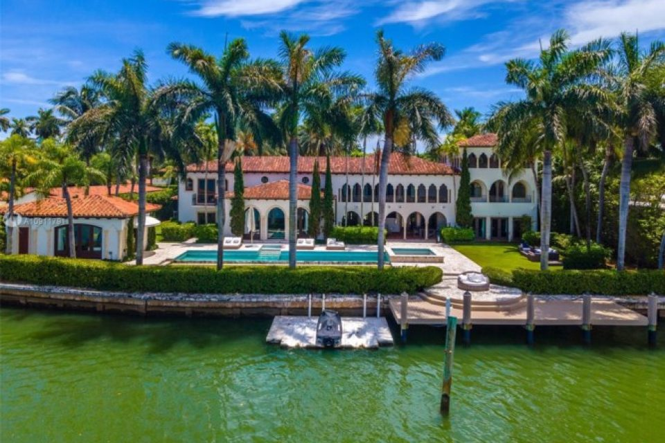 Cher's Stunning La Gorce Island Mansion!