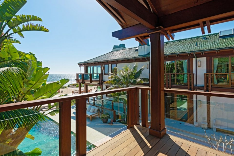 Pierce Brosnan's Malibu Beach Orchid House!
