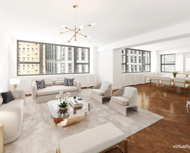 Dame Joan Collins Lists Manhattan Pied-A-Terre!