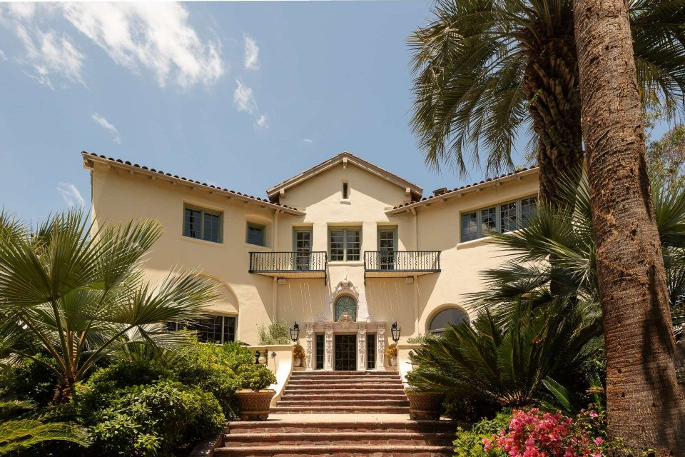 Historic W.C. Fields Mansion – Neighbor To Cecil B. DeMille and Charlie Chaplin Mansions!